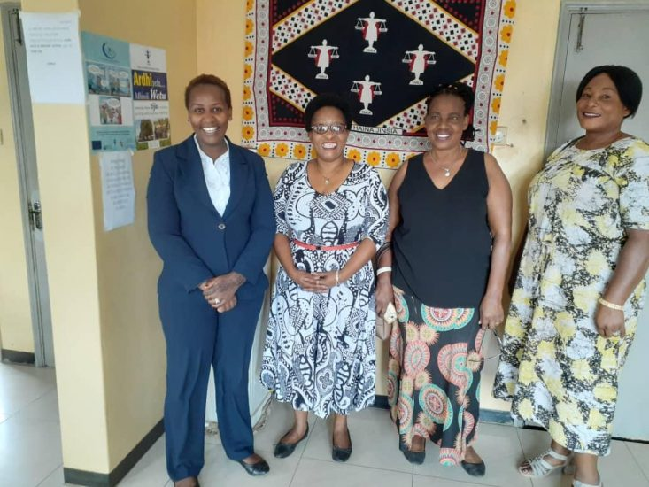 Courtesy Visit from Tanzania Women Chamber of Commerce, Gender Equality Advisor for VSO CUSO International .