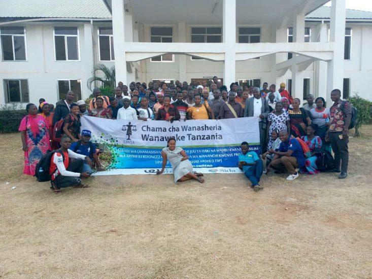 Awareness training on Land Rights issues particularly Women Land Rights in Ulanga and Kilombero Districts