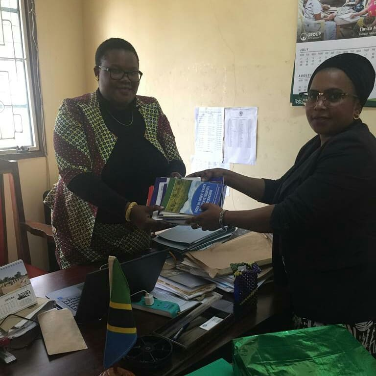 Courtesy call at Korogwe District Council Offices