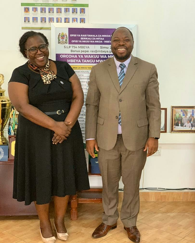TAWLA'S COURTESY VISIT TO MBEYA REGIONAL COMMISSIONER
