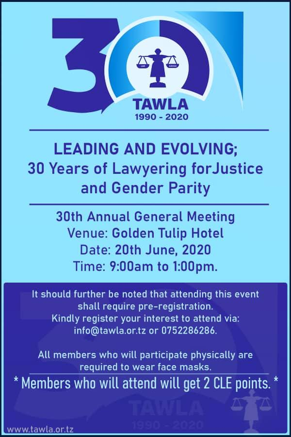 30th Annual General Meeting