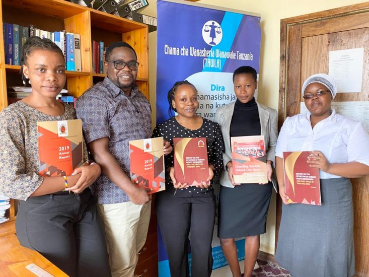 THRDC Courtesy visit to TAWLA Office in Dodoma