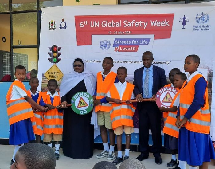 The 6th UN Global Road Safety Week commemorations in Dodoma,Tanzania.