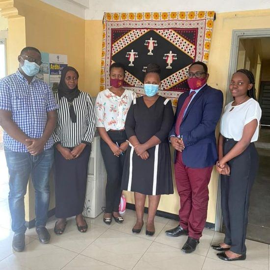 THRDC Courtesy Visit to TAWLA Offices in Mwanza